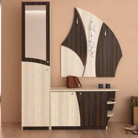 Портманто Джоана - цвят Пясъчен дъб / Сребърно венге