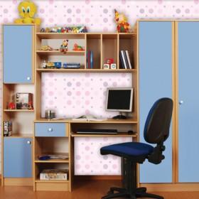 Секция за детска стая Нанси - синя