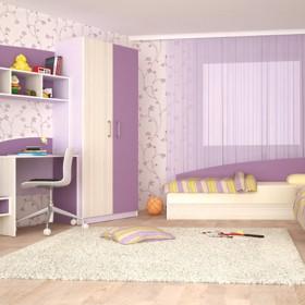 Комплект за  детска стая Томас - виолет