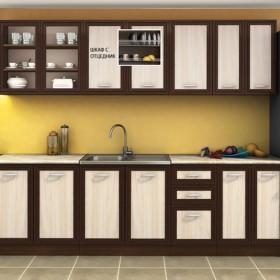 Кухненски комплект Сити - цвят венге