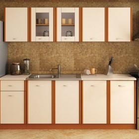 Кухненски комплект Мика - цвят чери