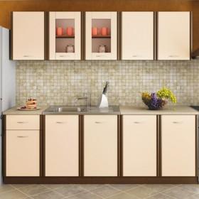Кухненски комплект Мика - цвят венге