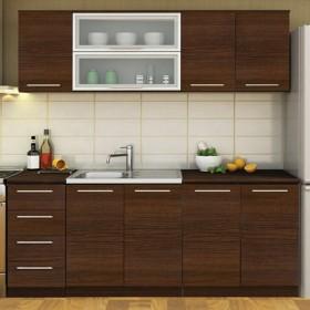 Кухненски комплект Модена - цвят венге