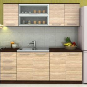 Кухненски комплект Модена - цвят светло зебрано