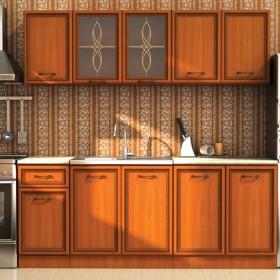 Кухненски комплект Равена - цвят круша