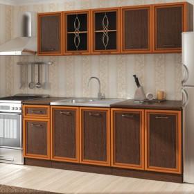 Кухненски комплект Равена - цвят венге