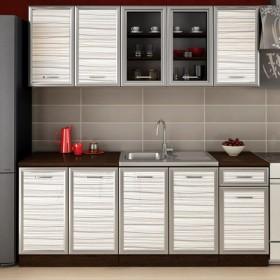 Кухненски комплект Регал - цвят бял матрикс гланц