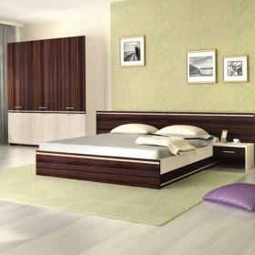 Авола - спален комплект, венге