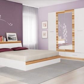 Престиж - спален комплект, бяло