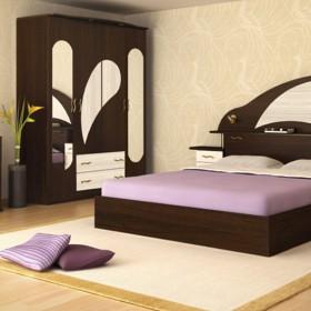 Роси - спален комплект, венге